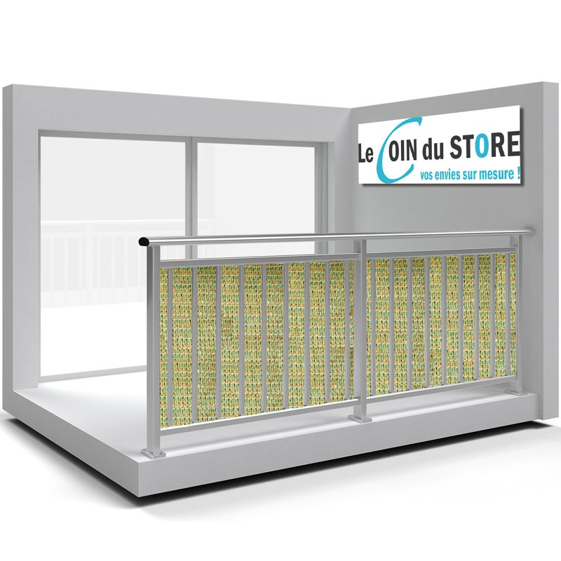 brise vue tentmesh en grille tress de haute qualit sur mesure. Black Bedroom Furniture Sets. Home Design Ideas