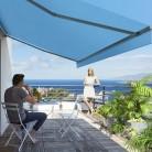 Toiles de store banne qui protège du soleil