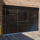 Orientable à bandes horizontales pour l'extérieur