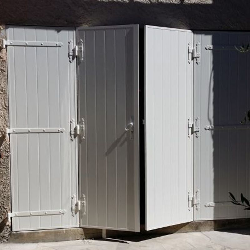 Conçu pour les grandes ouverture ou une fermeture de garage