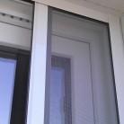 Toile en fibre de verre et coffre en aluminium laqué blanc