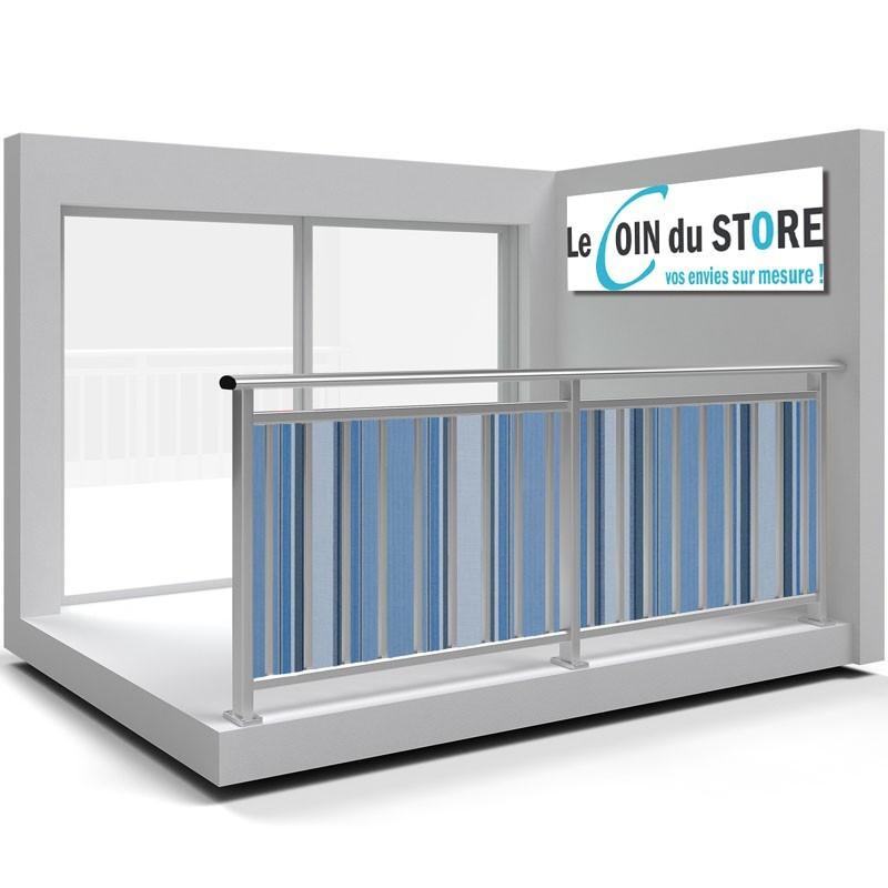 toile pare vue de balcon et brise vue sur mesure pour. Black Bedroom Furniture Sets. Home Design Ideas