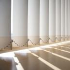 Store à bandes verticales ↕ sur mesure