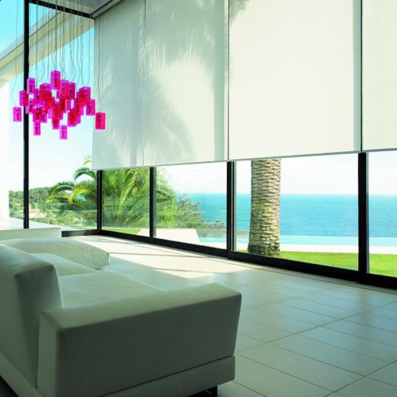 store enrouleur d 39 int rieur sur mesure. Black Bedroom Furniture Sets. Home Design Ideas