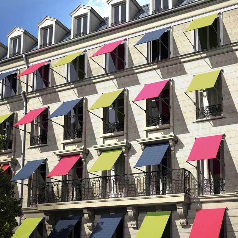 Store à l'italienne à projection extérieur pour vos fenêtres de façade