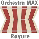 Toile double Orchestra MAX rayure